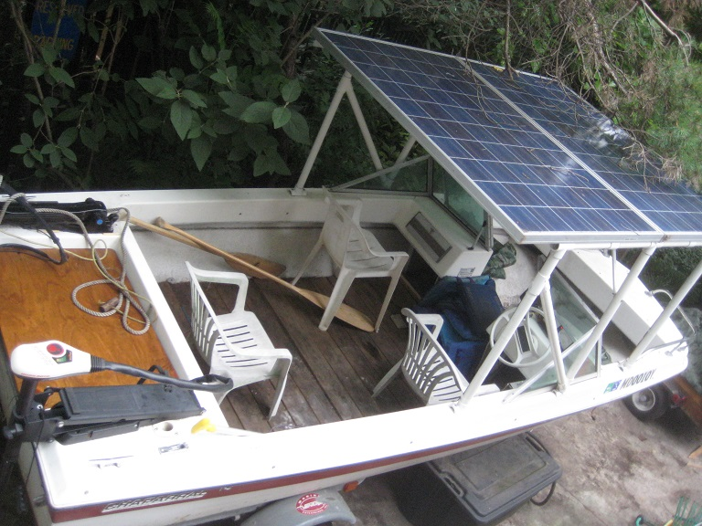 solar now i combined the 240v ac outputs via three 15 amp dual breakers in a combiner box and