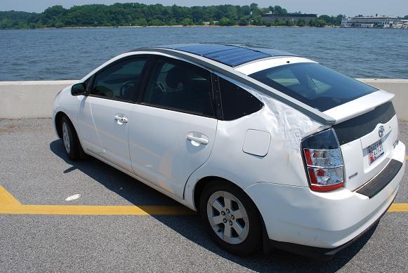 aprs solar phev rh aprs org toyota prius solar panel roof 2010 Toyota Prius Add Solar Panels